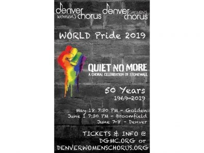 The Pride Show, featuring Quiet No More: A Choral Commemoration of Stonewall