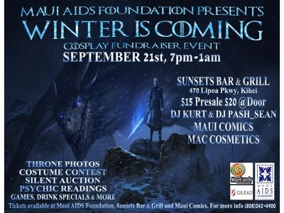 """Winter is Coming"" Game of Thrones Cosplay Event"