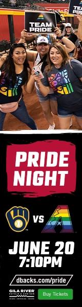D-Backs Pride Night Skysc